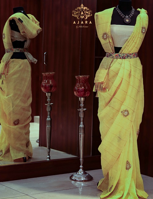 Ajara Party Wear Saree)img