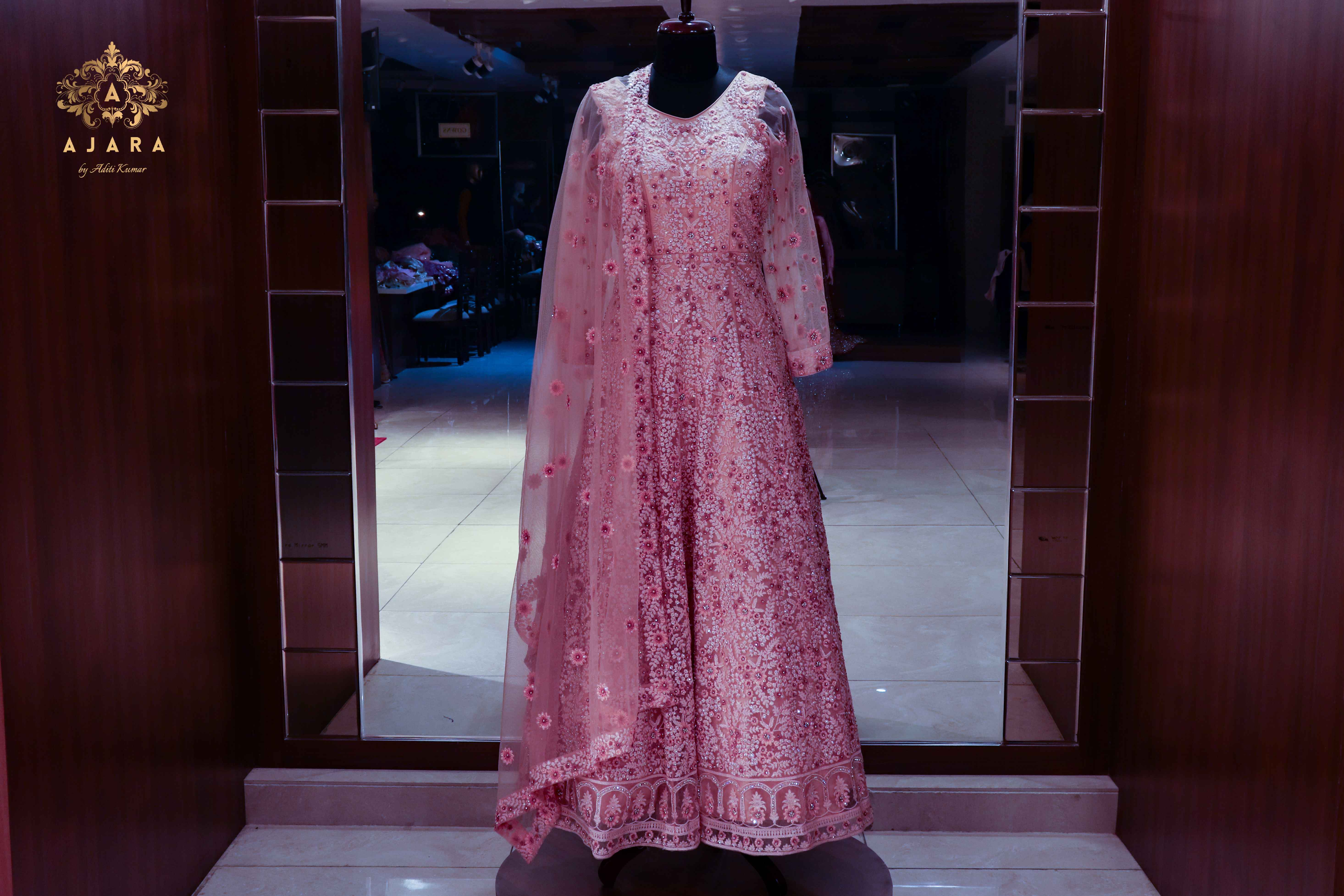 Wear A Work Of Art On Your Gown By Ajara